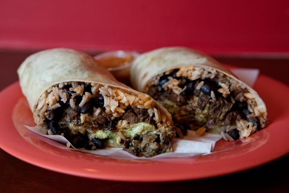 The carne asada burrito.